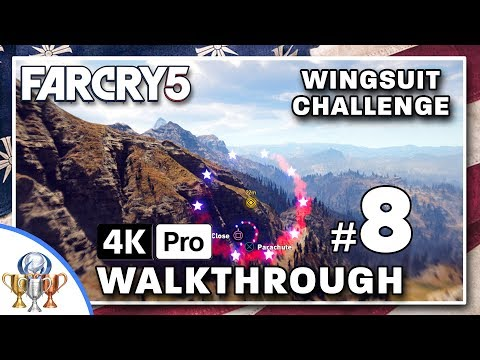 Far Cry 5 Walkthrough - The Lord of the Wings (Wingsuit Challenge) and a Plane Tour of Hope County