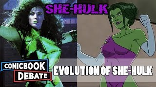 Evolution of She-Hulk in Cartoons, Movies & TV in 5 Minutes (2018)