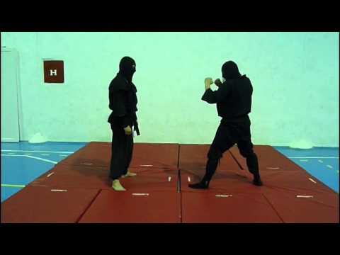 Ninjutsu,Krav Maga,BJJ Techniques