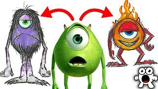 Top 10 Amazing Ideas Scrapped By Pixar