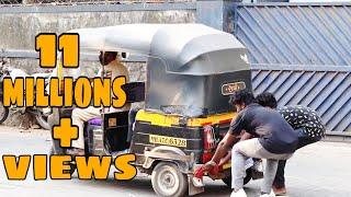 prank on auto rickshaw driver||@RD prank