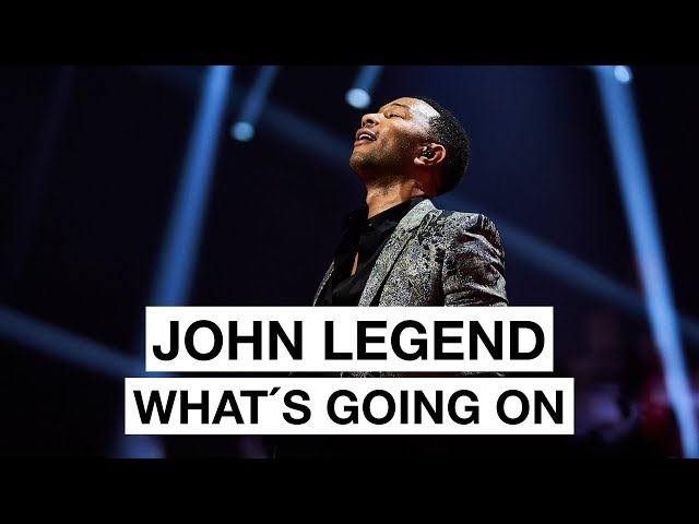 John Legend - What ́s Going On (Highlight) | The 2017 Nobel Peace Prize Concert