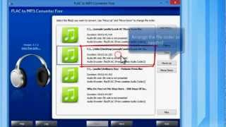 You can convert FLAC to MP3 easily with this free tool. For a text version of this guide, go to: http://www.tinyurl.com/cfcva3x If you need the video converter tool ...