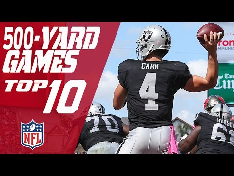 Top 10 500-Yard Passing Games in NFL History | NFL