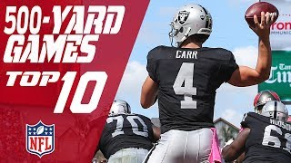 Top 10 500-Yard Passing Games in NFL History | NFL by : NFL