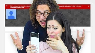 I DELETED MY GIRLFRIEND 'S YOUTUBE CHANNEL !