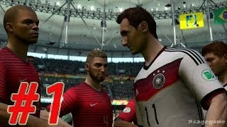 2014 FIFA World Cup - Walkthrough Gameplay Part 1 - Group G -  Germany vs Portugal [ HD ]