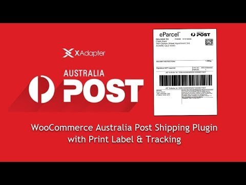 WooCommerce Australia Post Shipping Plugin With Print Label & Tracking