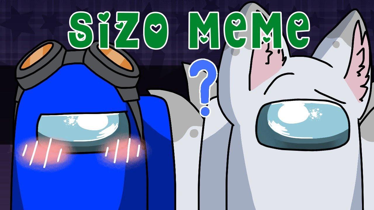 Download Sizo Meme || White X Blue || Among Us (13+)
