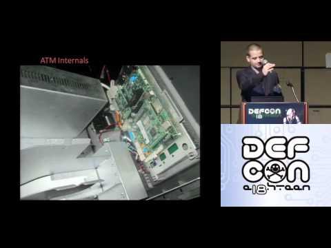 DEFCON 18: Jackpotting Automated Teller Machines Redux  1/3