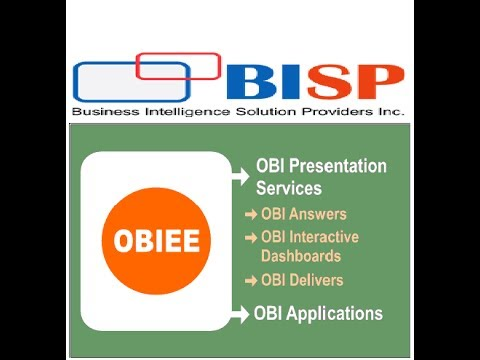 OBIEE BI Publisher Hands On Videos