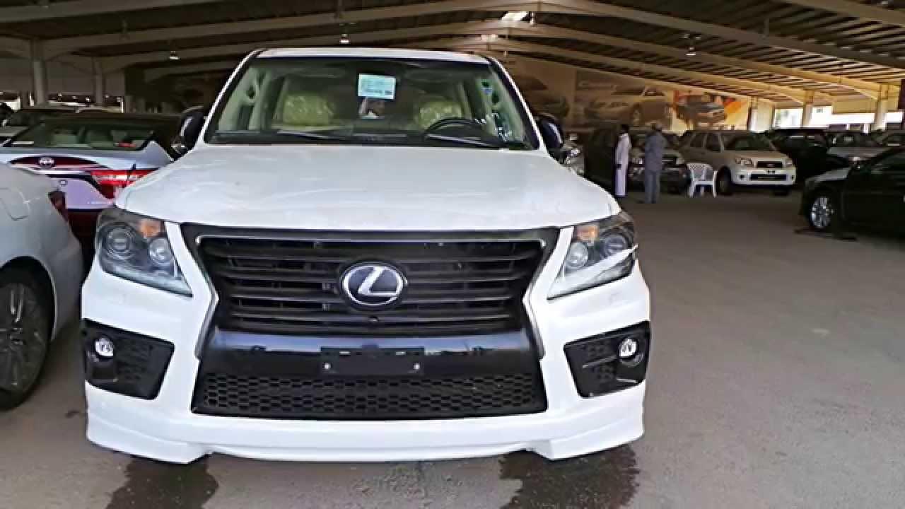 اسعار الجزء الاول Lexus Lx 570 Sport Supercharged 2014 لكزس سوبر شارج نزل السعر الي ٦٥٠ الف Youtube