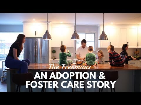An Adoption And Foster Care Story - The Freemans // Ontario, Canada
