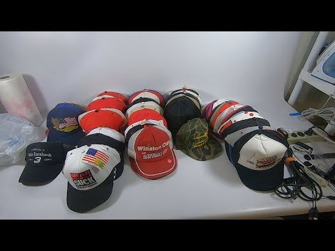 I BOUGHT 60 HATS AT A YARDSALE TO SELL ON EBAY