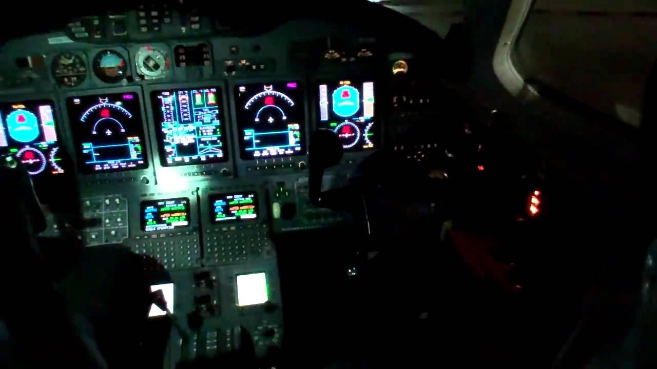 Citation X Cockpit Preparation