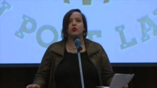 Rhea Brown-Bright, 2015 Oklahoma Youth Poet reads