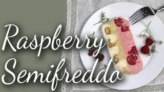 Raspberry, Pistachio And Vanilla Semifreddo | Kitchen Vignettes | Pbs Food