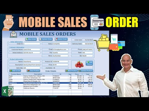 How To Create A Mobile App From Any Excel Sheet [Full Sales Order Application]