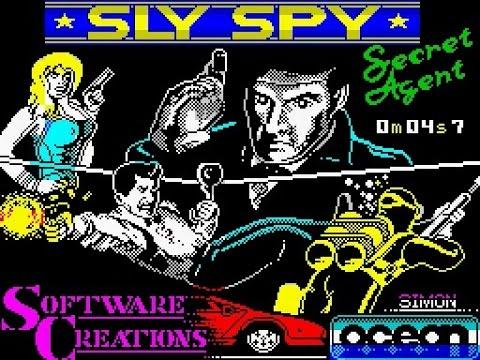 ZX Spectrum Longplay [100] Sly Spy Secret Agent