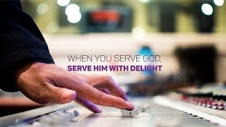 When You Serve God, Serve Him With Delight - Bong Saquing