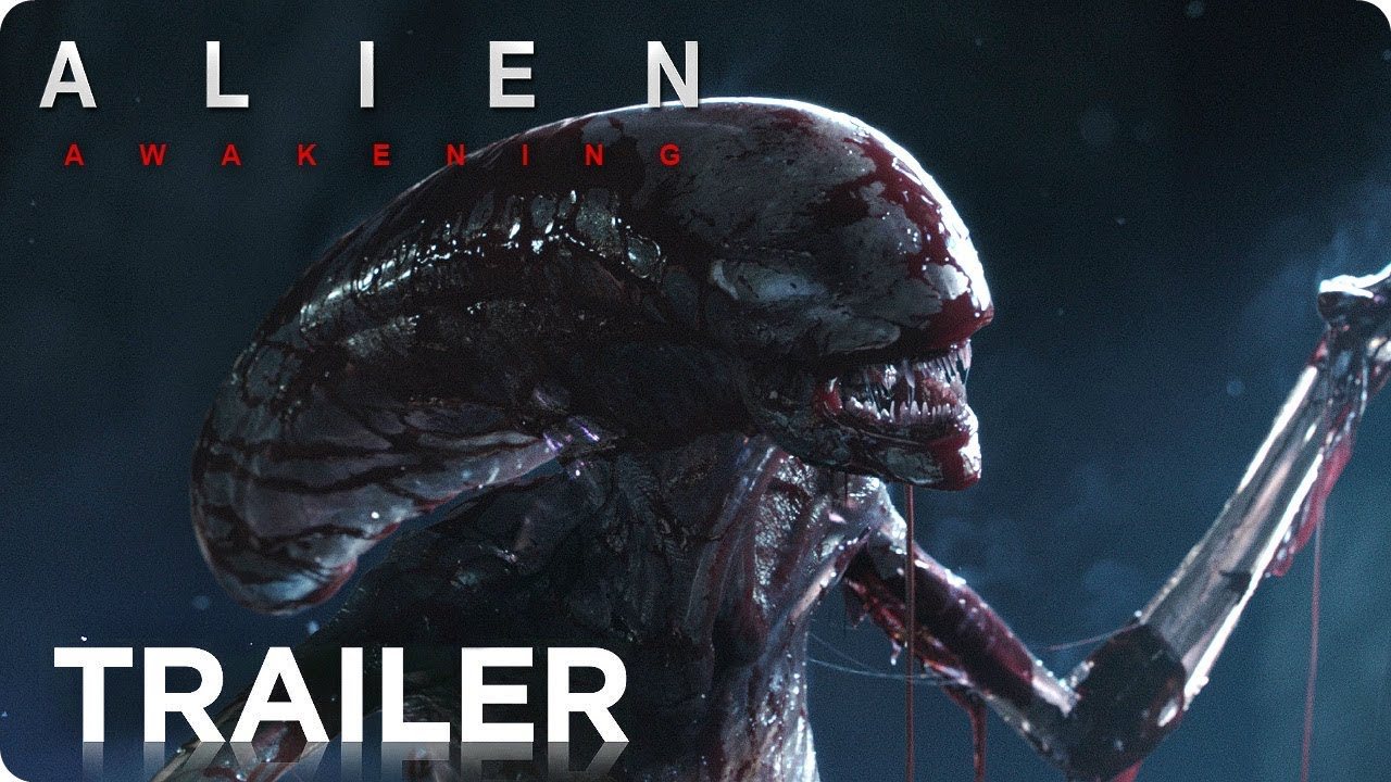ALIEN: Awakening (2019) Teaser Trailer Concept #1 [HD] Ridley Scott Si-Fi Movie