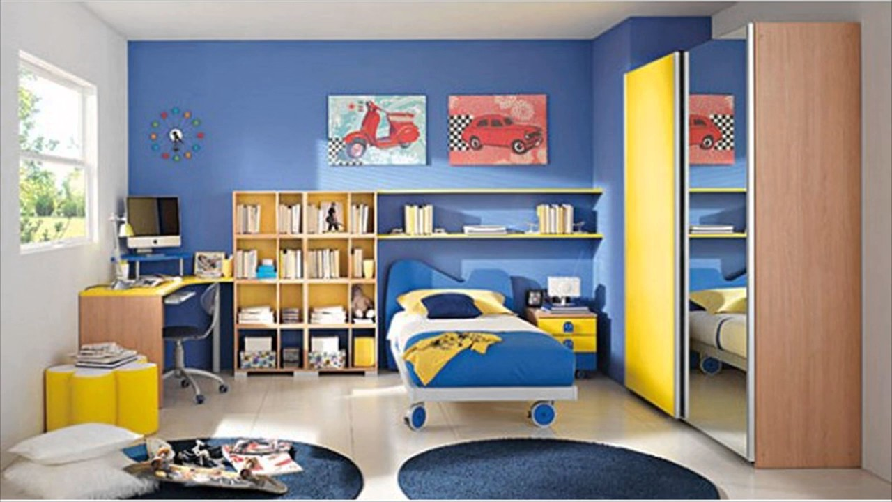 Choose Colors For Children Room - YouTube