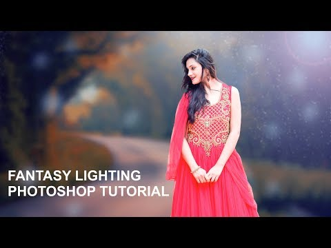 Fantasy Lighting Photoshop Tutorial In Hindi (2019) | Prince Awasthi Photography thumbnail