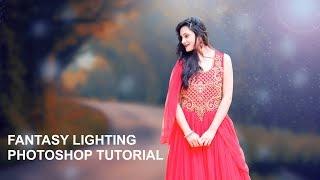 Fantasy Lighting Photoshop Tutorial In Hindi (2019)   Prince Awasthi Photography