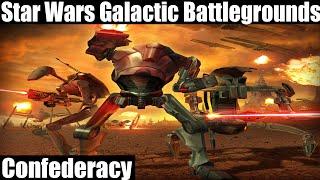 Star Wars Galactic Battlegrounds Gameplay - Confederacy