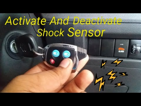 Maruti Suzuki Nippon Shock Sensor Activation And Deactivation ( hindi ) || Protect Car From Thief