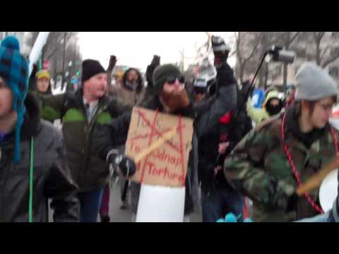 """""""This is what Democracy looks like!!!!"""" Homan Square Protest"""