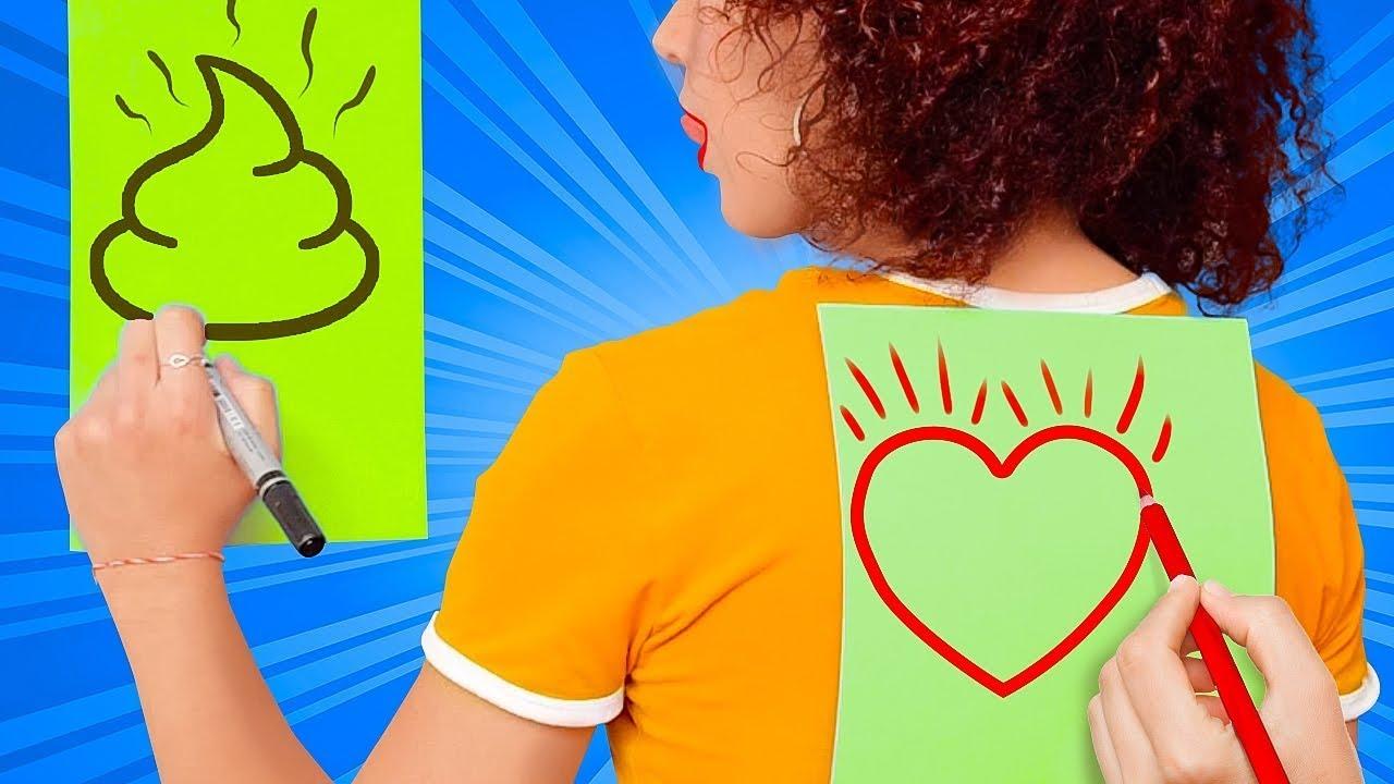 ЧЕЛЛЕНДЖ С РИСОВАНИЕМ || Кто нарисует лучше? Арт-челлендж и лайфхаки по рисованию от 123 GO Like!