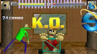 Baldi vs Papyrus, Mario, Internet Explorer, and Mario. (Contains Flashing Lights) M.U.G.E.N thumbnail