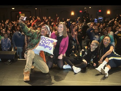 STOMP OUT BULLYING WITH NICK CANNON, CELEBRITIES & STUDENTS!