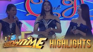 It's Showtime Miss Q & A: Anne and Vice shares what countries would they represent in a pageant