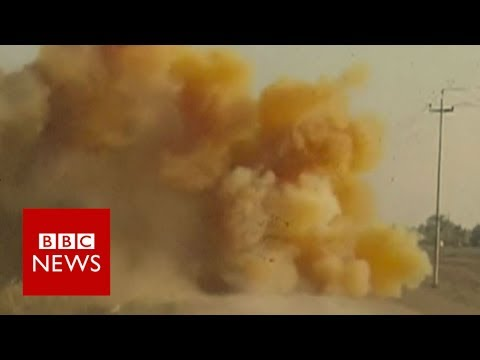 IS 'using chemical weapons' in Mosul - BBC News