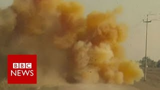 IS 'using chemical weapons' in Mosul   BBC News