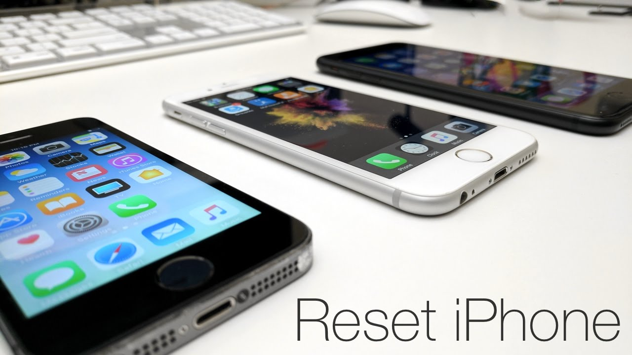 how to clear iphone to sell how to reset your iphone to sell it 18670