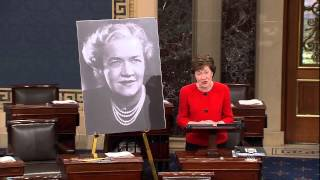 Senator Susan Collins pays tribute to Margaret Chase Smith