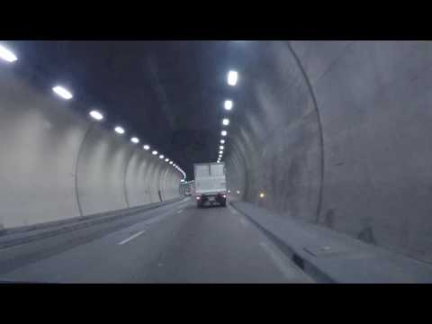 Monaco By Car - Exit By Tunnel To Cap D'Ail And Nice