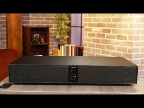 Pioneer's Speaker Base: Powerful sound under your TV