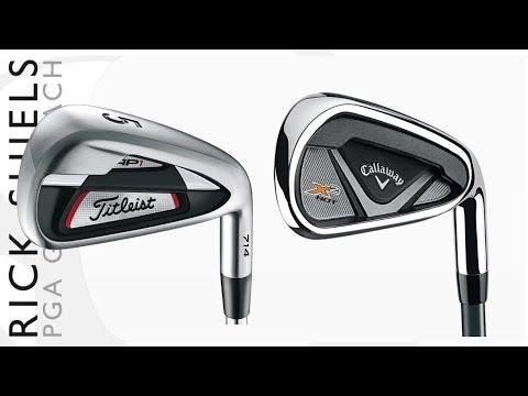Longest Irons Titleist AP1 Vs Callaway X2Hot