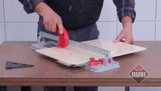 Rubi Basic Manual Tile Cutter - Basic 40, Basic 50, Basic 60