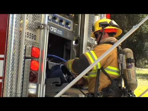 New Fire Engine in San Diego County