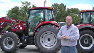 the full line of case ih farmal c series tractors