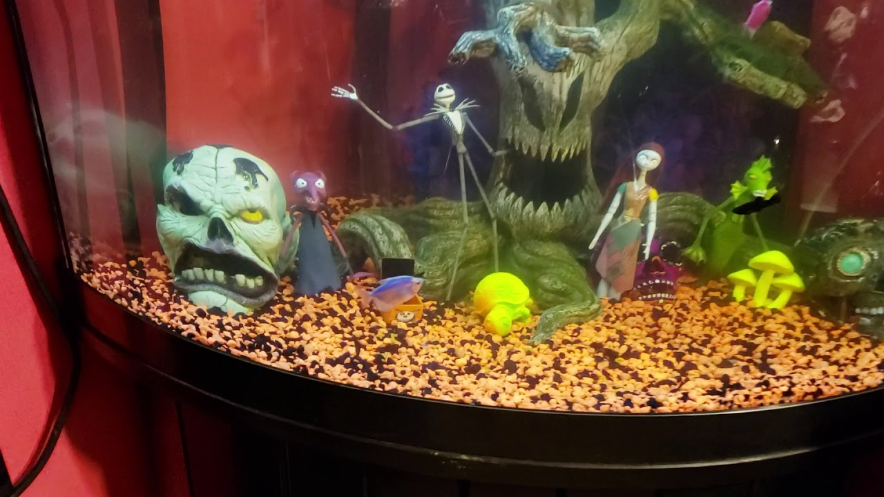 Nightmare Before Christmas Fish Tank Youtube