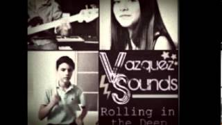 Vazquez sounds remix electro rolling in the deep