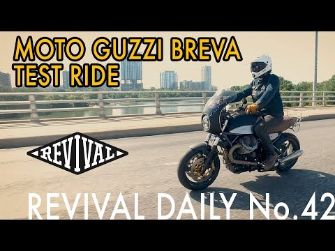 Moto Guzzi Breva Test Ride! // Revival Daily 42