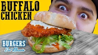 BUFFALO CHICKEN SANDWICH | EL GUZII