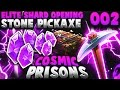 Minecraft COSMIC Prisons   ELITE SHARD OPENING! + STONE PICKAXE! Ep.2 (CosmicPvP Prisons)